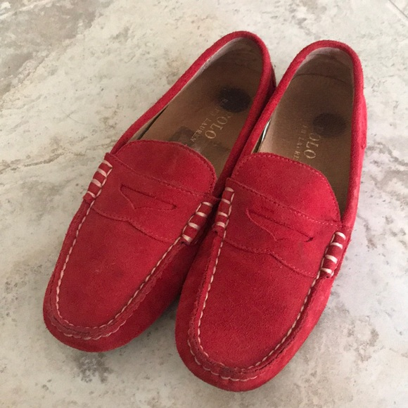 Polo by Ralph Lauren Other - Ralph Lauren loafers red size 7 US